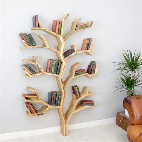 elm tree bookshelf our new tree shelf design by