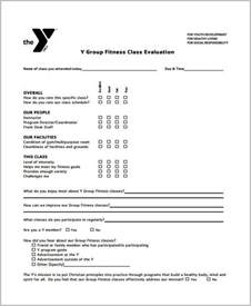 sample fitness evaluation forms 8 free documents in