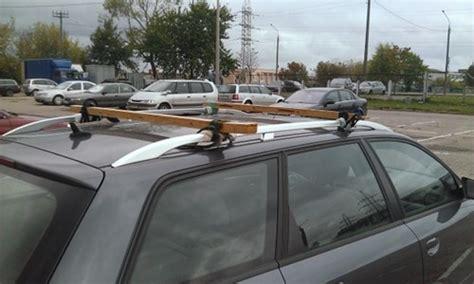 Diy Car Roof Rack by Diy Roof Bars Randomoverload