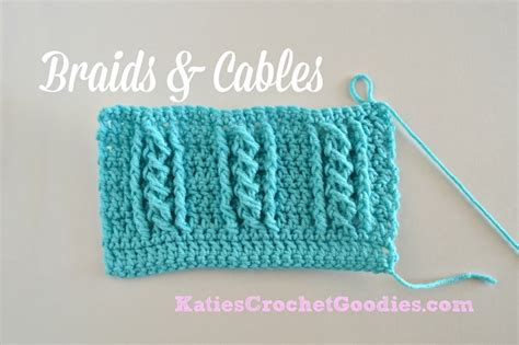 cable crochet made easy 18 cabled crochet project with complete tutorials books braided cable crochet stitch