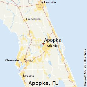 map of apopka florida best places to live in apopka florida