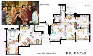 friends floor plan artists sketch floorplan of friends apartments and other