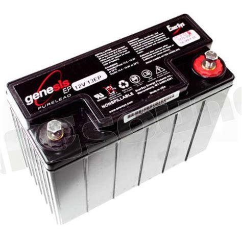 genesis battery genesis batteries ep12 g13ep batterie per avviamento e