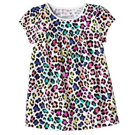 Jumping Beans 7 Orange jumping bean animal print t shirt fashion
