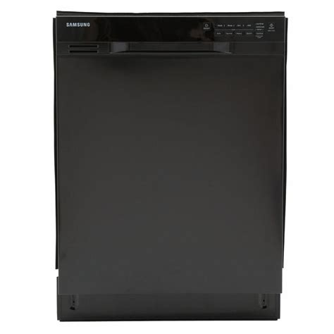 Samsung Dishwasher Samsung 24 In Front Dishwasher In Black With Stainless Steel Tub Dw80j3020ub The Home