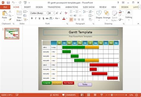 gantt chart template for powerpoint 10 best gantt chart tools templates for project management