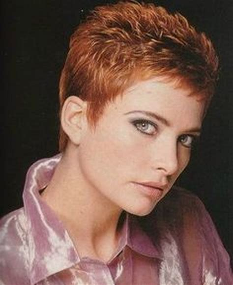very short spikey hairstyles for women very short haircuts for women over 50