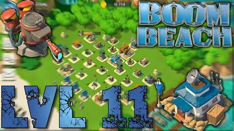 base layout strategy boom beach boom beach headquarters lvl 11 base layout defense