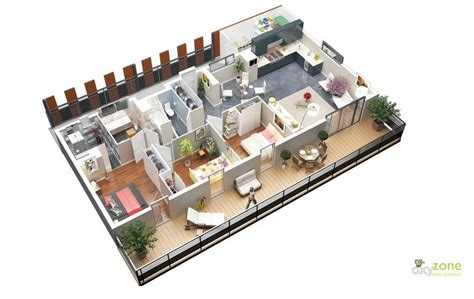 free 3 bedroom house plans 3 bedroom apartment house plans