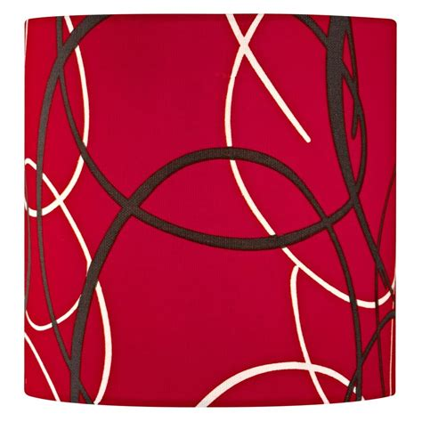 red drum l shade red linen drum l shade better ls