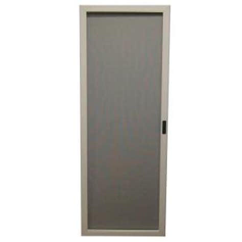 masterpiece 36 in white reversible sliding screen door