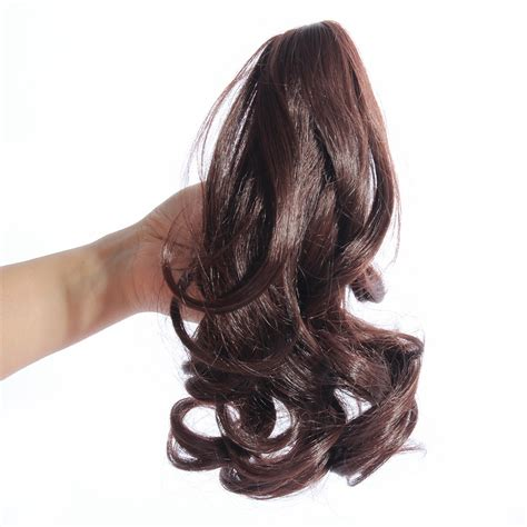 Hair Clip Poni Hairclip Poni claw clip in ponytail pony hair extension 14 quot claw on