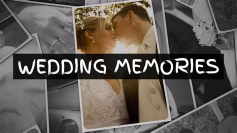 wedding memories sony vegas template on vimeo