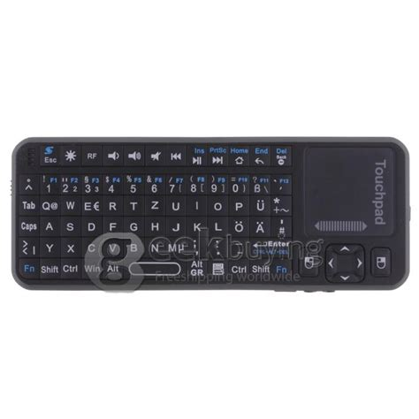 Mini Ipazzport Kp 810 10a 2 4g Rf Wireless Handheld Keyboard Mouse T german ipazzport 2 4g wireless qwertz keyboard mouse