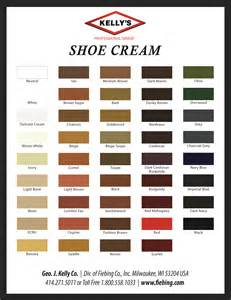 shoe color color charts dyes stains antiques shop for leather