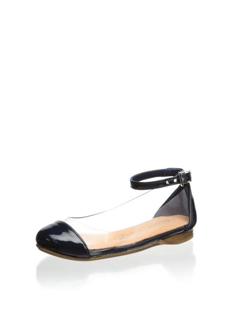 clear flats shoes papanatas by eli kid s clear ballet flat at myhabit