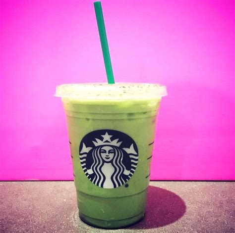 green cocktail starbucksgreen drink starbucks secret menu