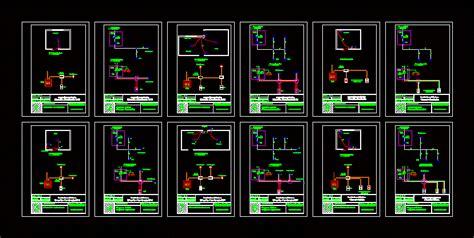 electrical circuit diagram  autocad cad  kb