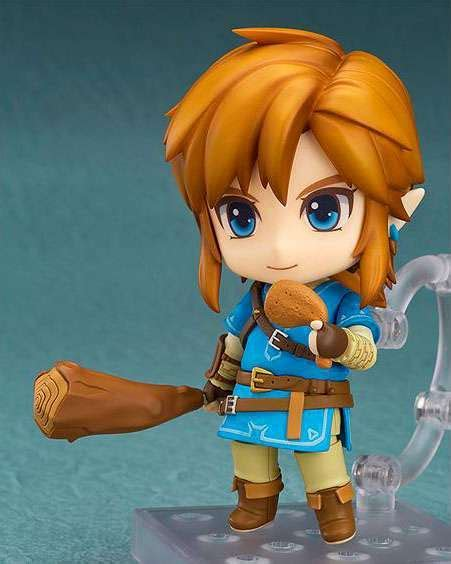 figure link the legend of breath of the nendoroid link 3 9