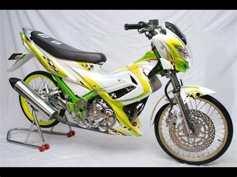Lu Tembak Motor Satria Fu motor trend modifikasi modifikasi motor suzuki satria fu jari jari terbaru part 1