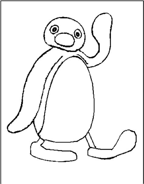 pingu coloring pages coloring home