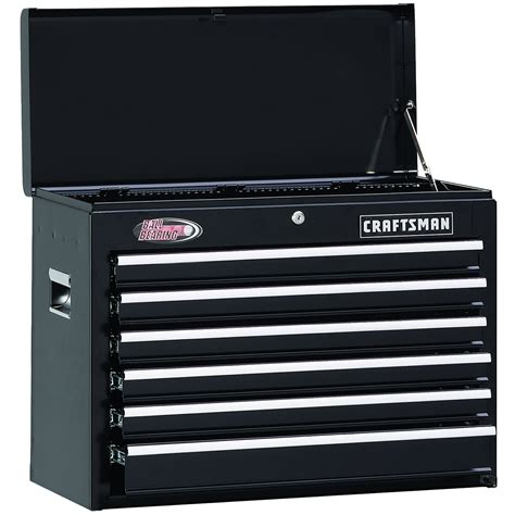 craftsman 26 inch 6 drawer tool chest 6 drawer craftsman tool chest shallow organize your tools