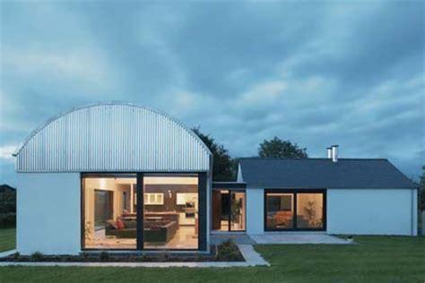 Barrel roof house plans   House design plans