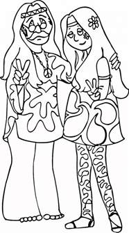 hippie coloring pages hippie coloring pages coloring home