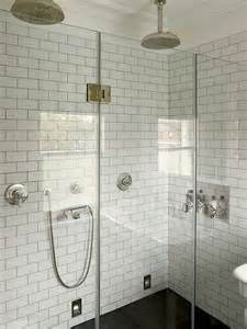 17 best images about white subway tile gray grout glass doors glasses and shower surround