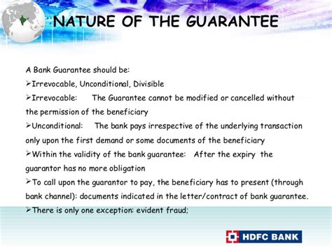 Irrevocable Bank Letter Of Guarantee Bank Guarantee Revised Fort