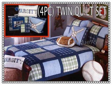 charles street bedding kids boys 4pc twin quilt bedding set charles street