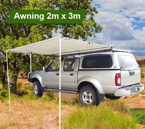 2m awning 3m x 2m 4wd awning outbaxcing outbaxcing