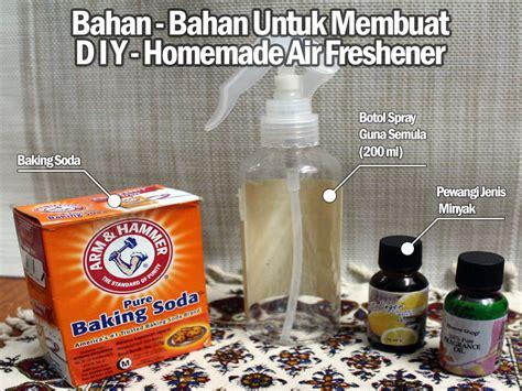 diy setting spray mudah diy air freshener jenis semburan untuk wangian rumah anda