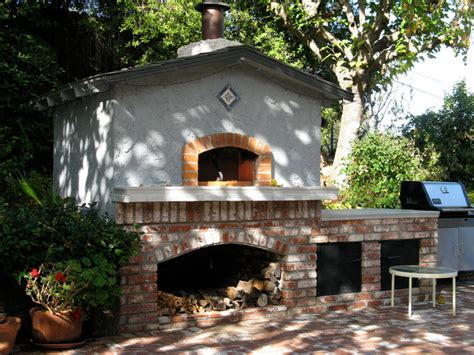 mugnaini pizza ovens outdoor wood fired oven eclectic outdoor pizza ovens san francisco