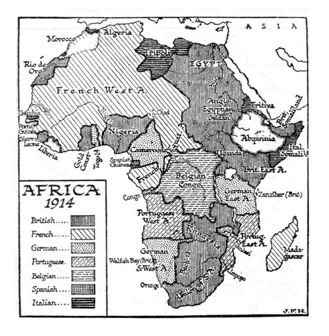 Scramble For Africa Outline Map by 38 9 The Second Scramble For Overseas Empires The Outline Of History By H G
