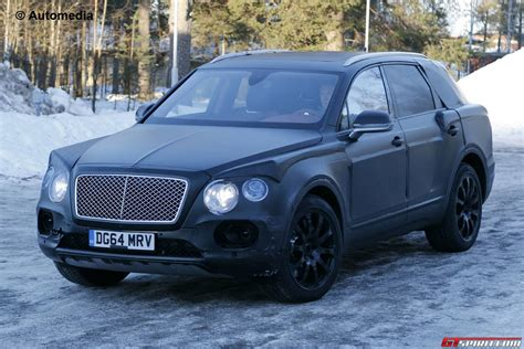 bentley bentayga 2015 diesel engine likely for bentley bentayga suv gtspirit