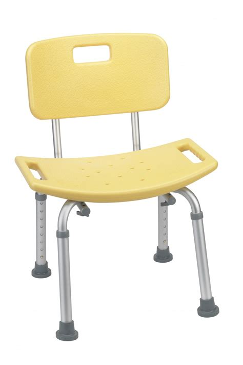 Bathroom Shower Chairs Yellow Bathroom Safety Shower Tub Bench Chair With Back Gba