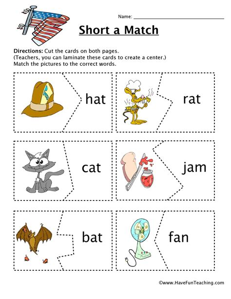 matching for and create a matching worksheet photos worksheet
