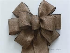 pew bows rustic burlap wedding pew bow rustic shabby by simplyadornmentsss