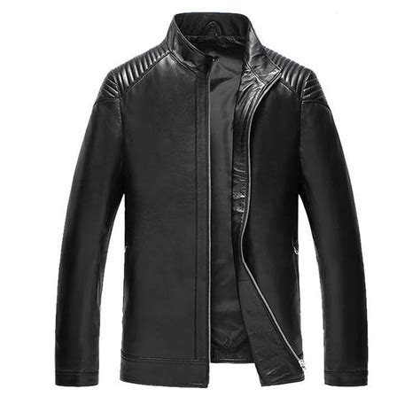 design jacket models 2013 fashion mens genuine leather jackets for men short