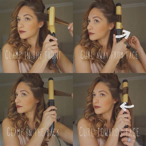 curling hair towards face beauty tip tuesday natural looking curls