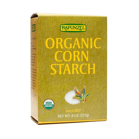 Rapunzel Organic Corn Starch 8 Oz 8 oz organic corn starch by rapunzel thrive market