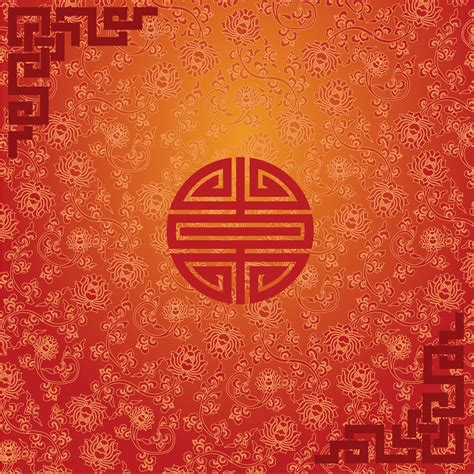 chinese pattern font chinese traditional classical style festive celebrate