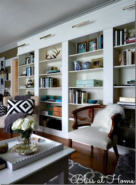 billy bookcase hack den project built in billy bookcase ideas southern