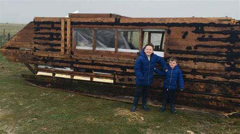 house boat ireland mysterious homemade houseboat washes up in ireland