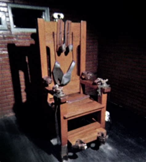 Penalty Electric Chair by Ou On The Justice Timeshift Crime And