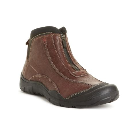 clarks boots clarks desoto waterproof boots in brown for brown