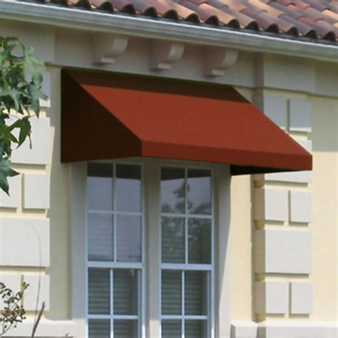 Cloth Awnings For Windows by New Yorker Rigid Valance Awning Fabric