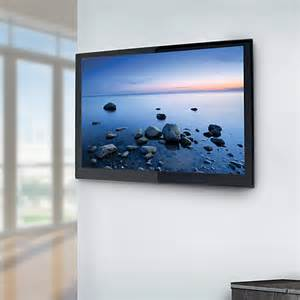 Flat Screen Tv With Wall Mount Unimax Any Wall Flat To Wall Tv Mount For Flat Panel Av