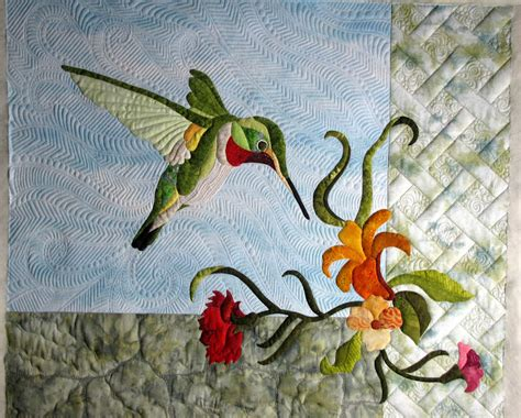 Hummingbird Quilts by The Secret Of Mrs Meatloaf Sparky The Hummingbird